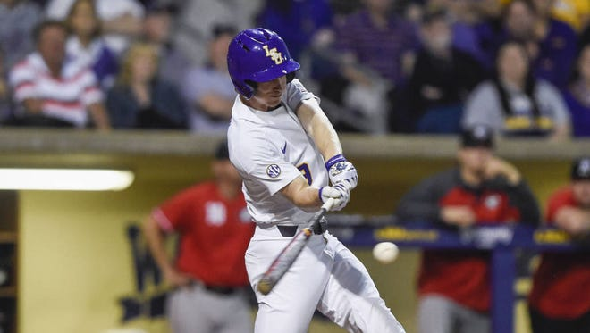 Zach Watson homered for the Tigers on Saturday night.