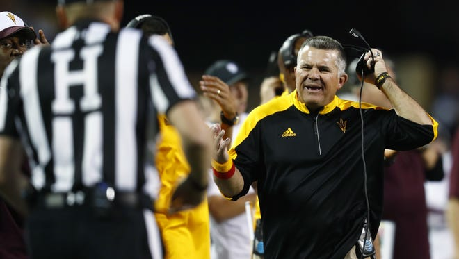 """ASU's Todd Graham:"""" """"Make this perfectly clear: We do everything exactly by the rules. Period."""""""