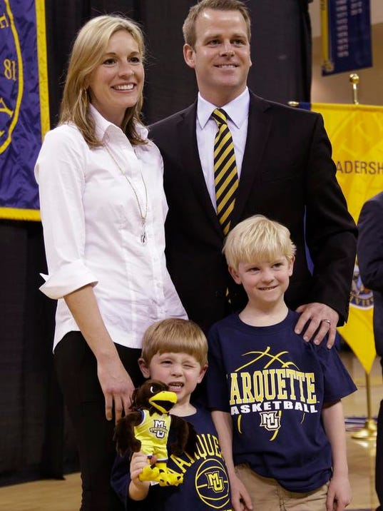Marquette 'not just any job,' new coach says