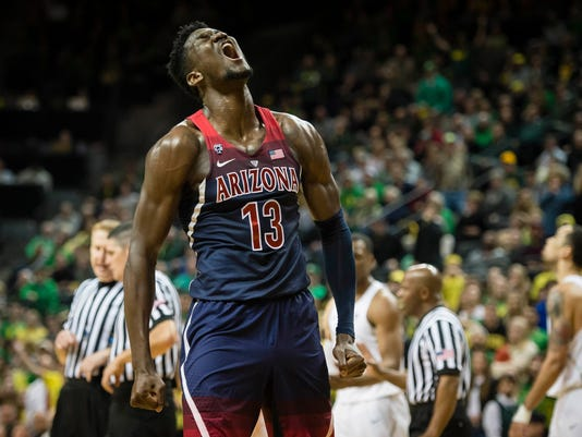 NCAA Basketball: Arizona at Oregon