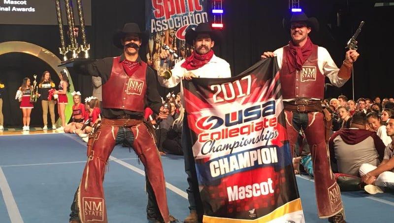 Nmsu Cheer Team Wins National Championship