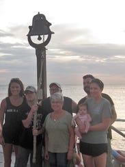 Largo resident Allison Rushing (center) and her family