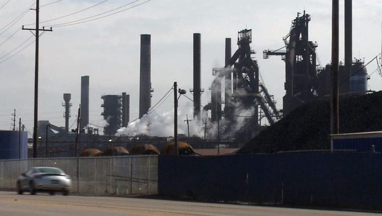 U.S. Steel Corp. is laying off 2,080 workers at its
