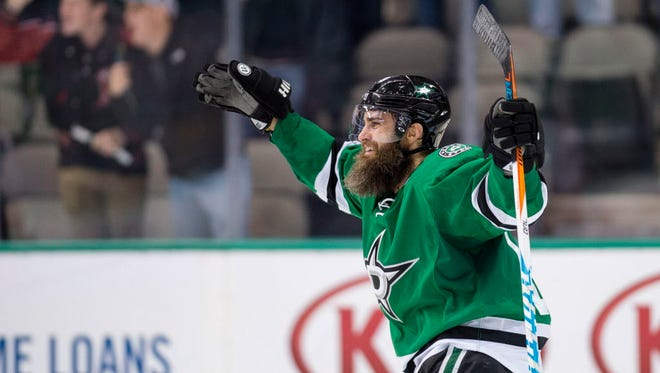 Patrick Eaves has been traded from the Stars to the Ducks.