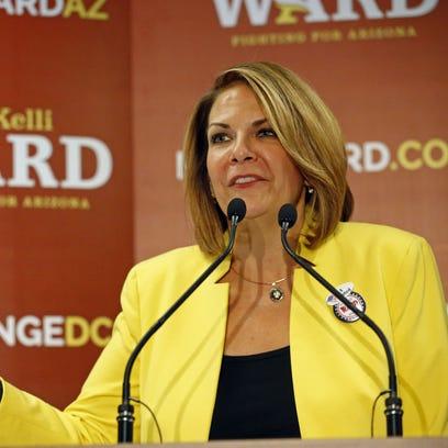 Senate candidate Kelli Ward concedes to John McCain