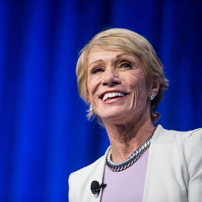 "Barbara Corcoran, mother and investor in the ""Shark"