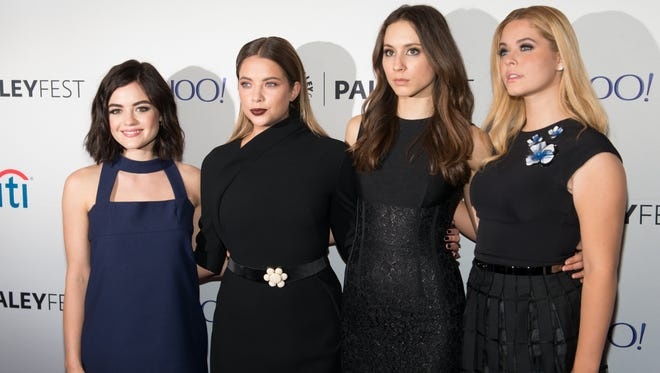 'Pretty Little Liars' stars Lucy Hale, Ashley Benson, Troian Bellisario and Sasha Pieterse shared emotional goodbyes to their show on social media.