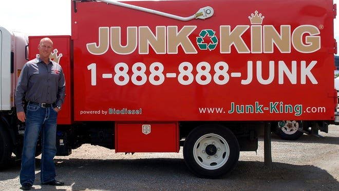 Brian Cassidy is the owner of Junk King in Reno, which opened this year and provides furniture, appliance and garbage removal services.