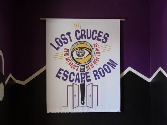 Lost Cruces Escape Room, has recently  added a new game room in June, with plans of continued expansion in the works. Wednesday June 20, 2018.