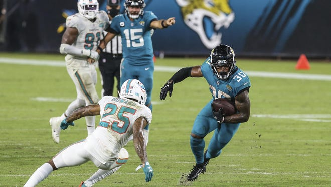 Jacksonville running back James Robinson has been a real find this season -- both in fantasy football and real football.