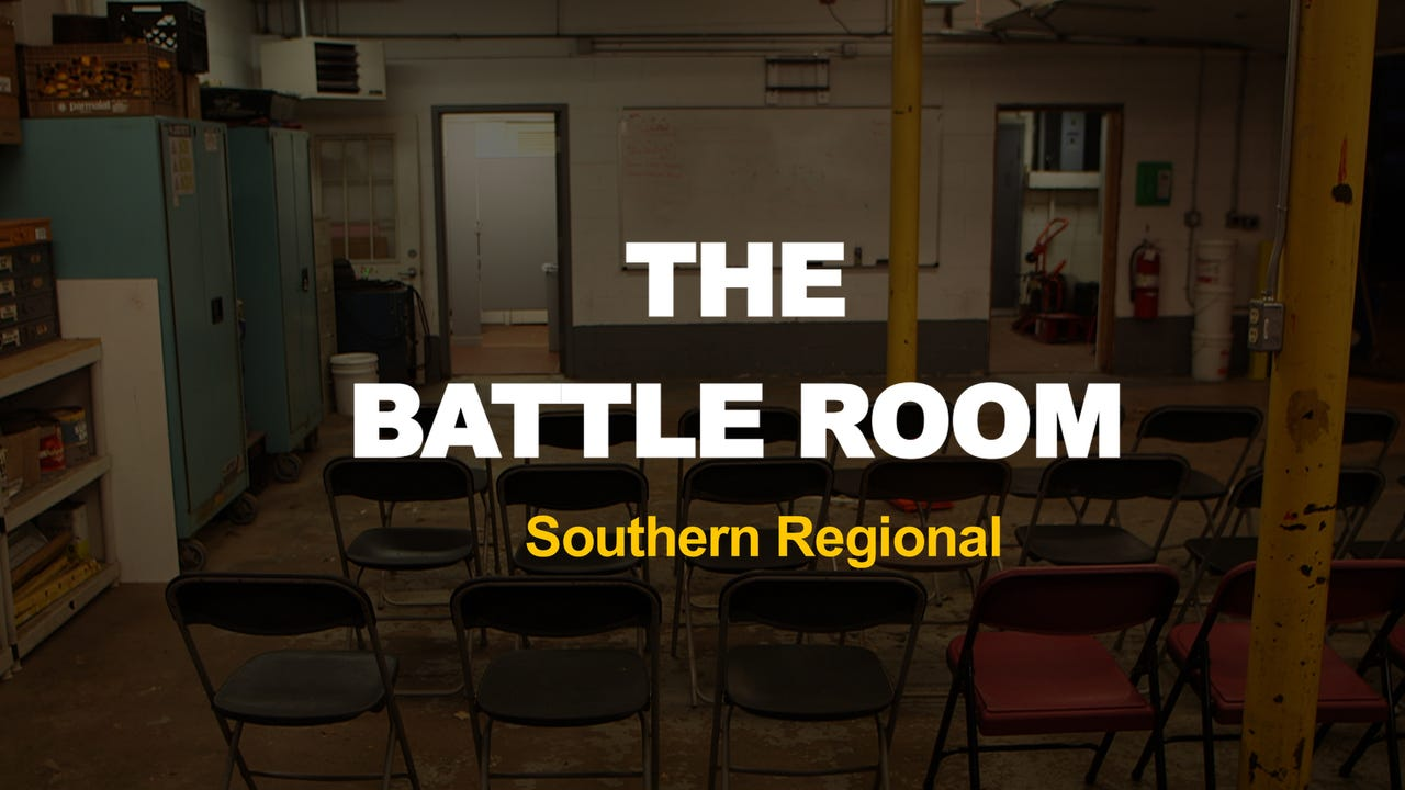 the battle room southern regional football