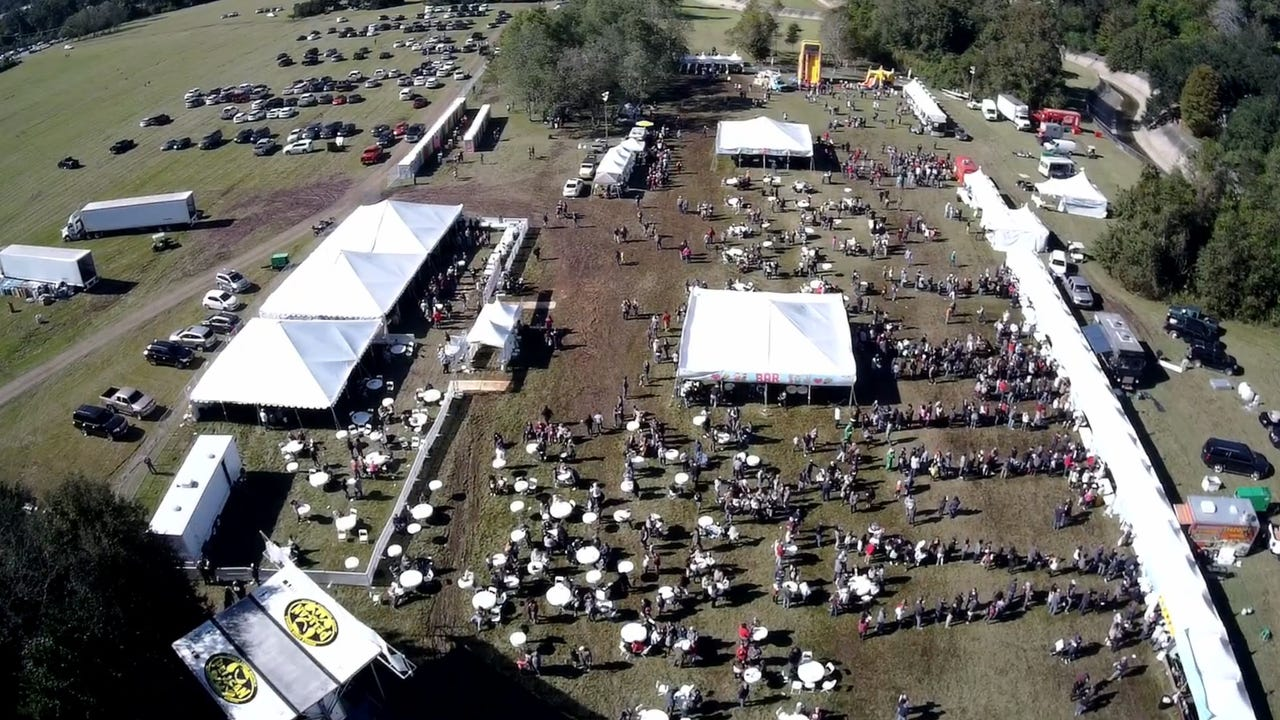 Drone footage of the taco festival lafayette for Lafayette cds 30