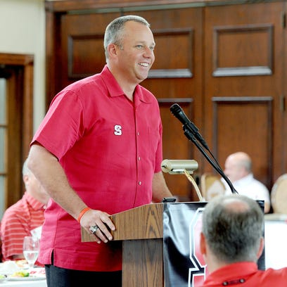 N.C. State football coach Dave Doeren is coming off an 8-5 season that included a bowl victory against Central Florida.
