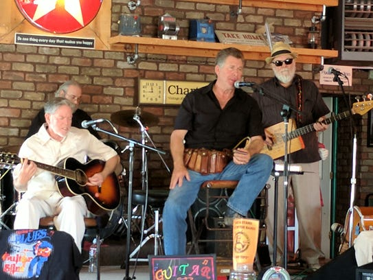 The Border Blues All Star Band performs from 3 to 5