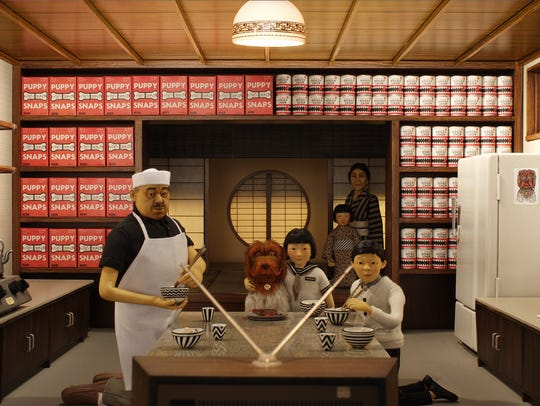 """King is one of the pooches in """"Isle of Dogs."""""""