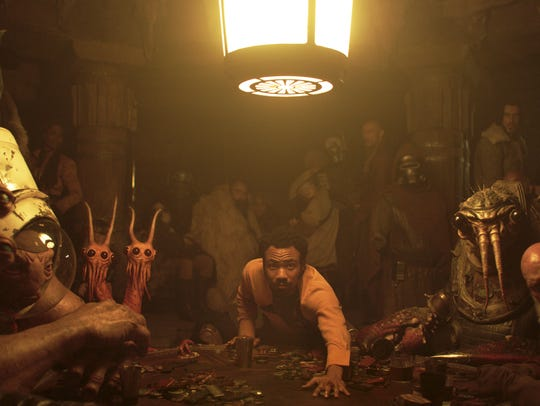 "Donald Glover is Lando Calrissian in ""Solo: A Star"