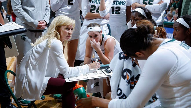 The MSU women's basketball team will face UConn as part of Phil Knight's 80th birthday celebration in November.