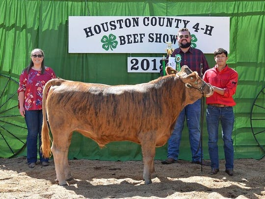 John Clay Coleman was Reserve Champion Bred & Fed.