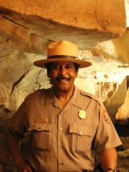 Park Ranger Jerry Bransford, whose family has worked