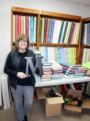 J. Madeline's Quilt Shoppe owner Susan Dineen named