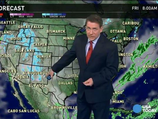 Thurs forecast