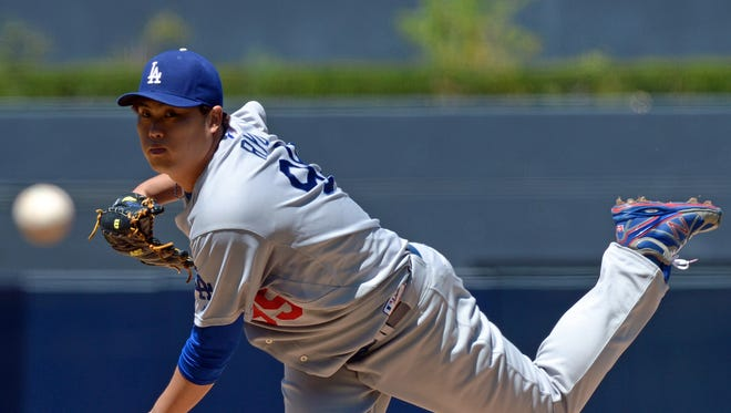 Hyun-Jin Ryu came off the DL to pitch four-hit ball over seven innings.