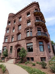 The El Moore apartment building in Midtown Detroit, built in 1898, has been fully restored with environmentally sustainable features that encourage a community of like-minded residents.