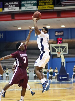 JSU guard Raeford Worsham, pictured shooting, said the Tigers need to avoid scoring droughts and defensive errors that have hurt them recently.