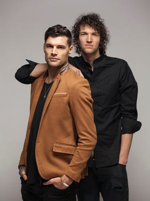 """Brothers Joel Smallbone, left, and Luke Smallbone of For King & Country. """"I think Winter Jam will always hold a special place in our hearts,"""" Luke Smallbone says."""