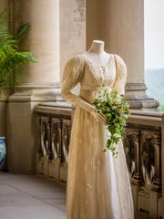 """A gown from the TV miniseries adaptation of """"Middlemarch."""""""