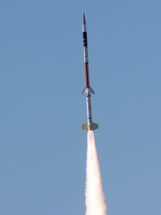 vertical sounding rocket