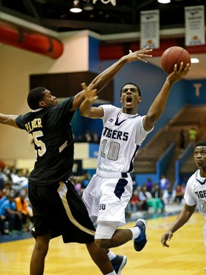 Jackson State's Raeford Worsham was a second-team All-SWAC selection after he averaged 13.4 points and 7.5 rebounds.