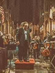 Plainfield Symphony Orchestra recently saluted former conductor Jose Serebrier, pictured, who led the ensemble 50 years ago. Only two musicians remain from those days, the orchestra said. Serebrier is one of the most recorded conductors in the world. He also attended a dress rehearsal to share his insights and guidance. The concert was held on April 2 at Crescent Avenue Presbyterian Church.