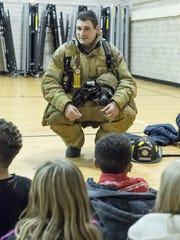 Battle Creek Firefighter Kevin Lohrke answers questions