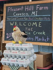 Local and farm fresh eggs available during the first
