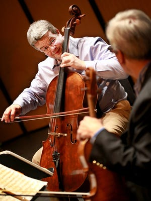 Cellist Paul Watkins is entering his second season as artistic director of the Great Lakes Chamber Music Festival.