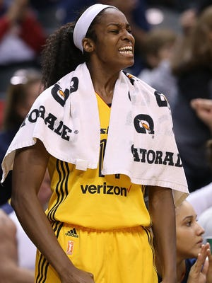 Indiana Fever guard Erica Wheeler has moved into the starting lineup in the past two games and has averaged 12.5 points, shooting a combined 10-for-21 in those games.