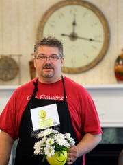 Florist Stephen Rosala, manager of Especially For You