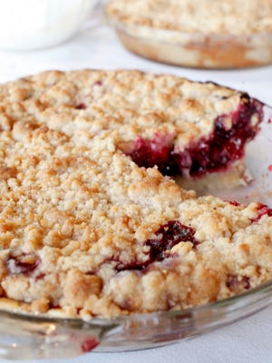 Summer Berry Pie made by Dominic Serratore, who is the chef and co-owner of Ditto's Grill on Bardstown Rd. in the Highlands. Aug. 3, 2016