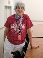 Rita Kohn, who has been a craft beer critic for Nuvo for the past 15 years, was a judge in the fair's Bicentenni-ALE beer competition.