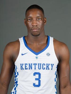 "2016-17 UK freshman basketball player Edrice ""Bam"" Adebayo. Sept. 15, 2016"