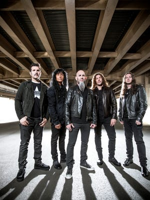 Anthrax performs Friday at The Warehouse in downtown Shreveport.