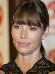Actress Jessica Biel walks the red carpet for opening