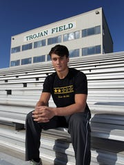West High's Oliver Martin poses for a photo on Tuesday,