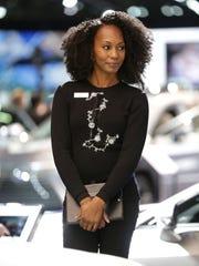 Lexus product specialists wear custom made knitwear