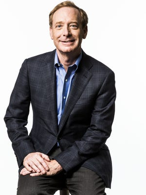 Microsoft President and Chief Legal Officer Brad Smith.