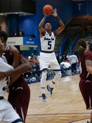 Jackson State guard Paris Collins and the rest of the Tigers host Grambling Saturday at the Williams AAC this Saturday.