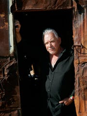 Eric Burdon, shown at the Noah Purifoy Outdoor Museum,