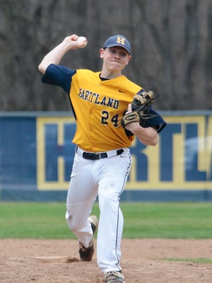 Max Hendricks of Hartland will be a player to watch on Saturday as the Eagles vie for a district title in White Lake.