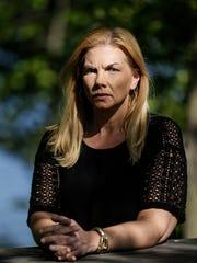 Domestic violence survivor Nicole Beverly of Ypsilanti